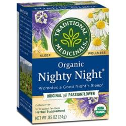 Traditional Medicinals Organic Nighty Night Tea