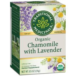 Traditional MedicinalsOrganic Chamomile Tea with Lavender