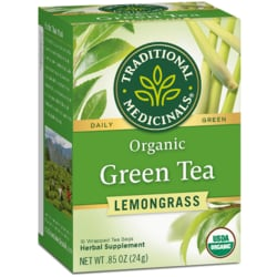 Traditional MedicinalsOrganic Green Tea with Lemongrass