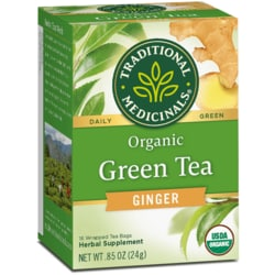 Traditional MedicinalsOrganic Green Tea With Ginger