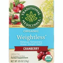 Traditional MedicinalsOrganic Weightless Cranberry Tea
