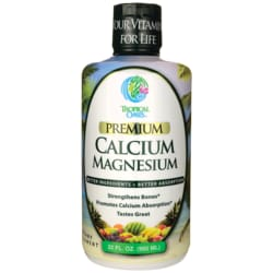 Tropical Oasis Liquid Calcium Magnesium - Orange Flavor