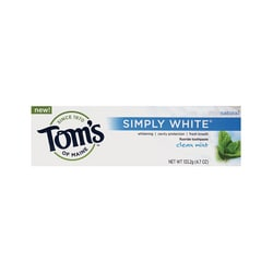 Tom's of MaineSimply White Clean Mint Toothpaste
