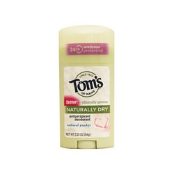 Tom's of Maine Naturally Dry Deodorant - Natural Powder