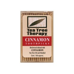 Tea Tree TherapyCinnamon Toothpicks