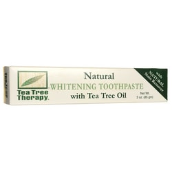 Tea Tree TherapyNatural Whitening Toothpaste with Tea Tree Oil