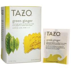 Tazo Tea Green Tea - Green Ginger