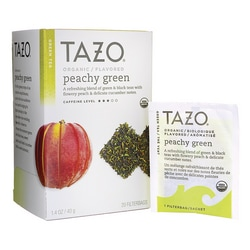 Tazo Tea Green Tea - Organic Peachy Green