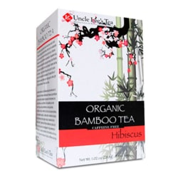 Uncle Lee's TeaOrganic Bamboo Tea - Hibiscus