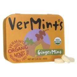 VerMintsAll Natural Breath Mints - GingerMint