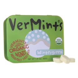 VerMintsAll Natural Breath Mints - Wintergreen