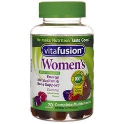 VitafusionWomen's Complete Multivitamin Gummy - Berry Flavors