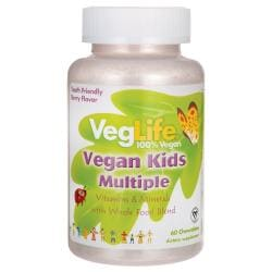 VegLifeVegan Kids Multiple - Berry Flavor