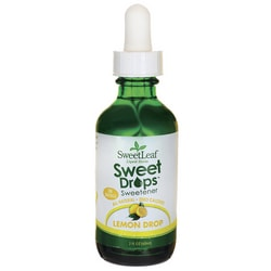 Wisdom NaturalSweetLeaf Sweet Drops Lemon Drop Liquid Stevia