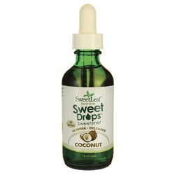 Wisdom Natural SweetLeaf Coconut Liquid Stevia