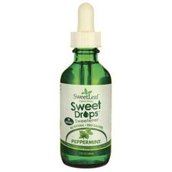Wisdom Natural Yerba dulce líquida de SweetLeaf de hierbabuena