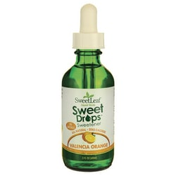 Wisdom NaturalSweetLeaf Valencia Orange Liquid Stevia