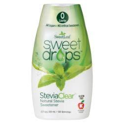 Wisdom NaturalSweetLeaf Sweet Drops Liquid Stevia - SteviaClear