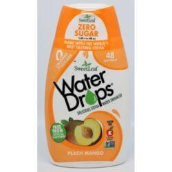 Wisdom NaturalSweetLeaf Water Drops Stevia Water Enhancer - Peach Mango