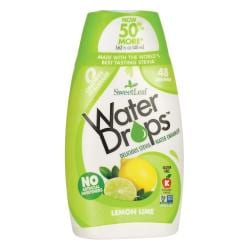 Wisdom NaturalSweetLeaf Water Drops Stevia Water Enhancer - Lemon Lime