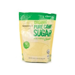 Woodstock FoodsOrganic Pure Cane Sugar