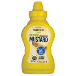 Woodstock FoodsOrganic Stoneground Mustard