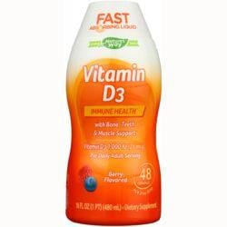 WellesseVitamin D3 - Natural Berry Flavor