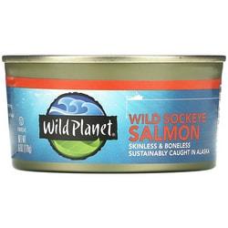 Wild PlanetWild Alaska Sockeye Salmon - Boneless & Skinless