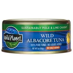 Wild PlanetWild Albacore Tuna - No Salt Added