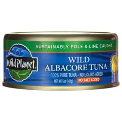 Wild Planet Wild Albacore Tuna - No Salt Added