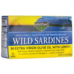 Wild PlanetWild Sardines in Extra Virgin Olive Oil With Lemon