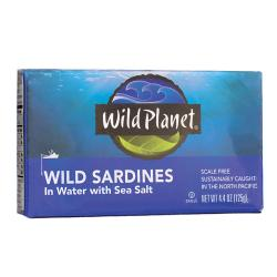 Wild PlanetWild Sardines in Water with Sea Salt