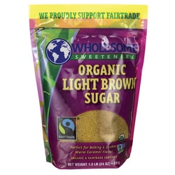 Wholesome Sweeteners Organic Light Brown Sugar