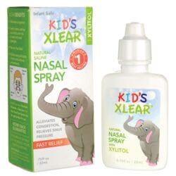 XlearKid's Saline Nasal Spray with Xylitol