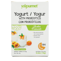 YogourmetFreeze-Dried Yogurt Starter with Probiotics