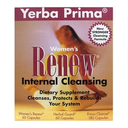Yerba Prima Women's Renew Internal Cleansing