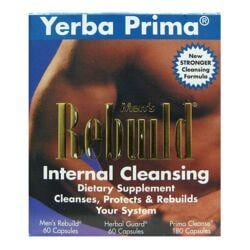 Yerba PrimaMen's Rebuild Internal Cleansing