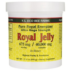 Y.S. Eco Bee Farm Pure Royal Energizer Royal Jelly In Honey