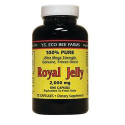 Y.S. Eco Bee Farm 100% Pure Royal Jelly Ultra Mega Strength