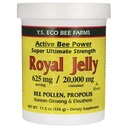 Y.S. Eco Bee FarmsActive Bee Power Royal Jelly In Honey