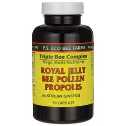 Y.S. Eco Bee FarmTriple Bee Complex Plus Korean Ginseng