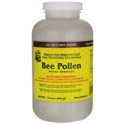 Y.S. Eco Bee Farm Low Moisture Bee Pollen Whole Granules