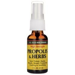 Y.S. Eco Bee FarmHigh Strength Propolis & Herbs Throat Spray