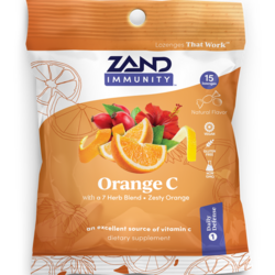 Zand HerbaLozenge Orange C - Zesty Orange