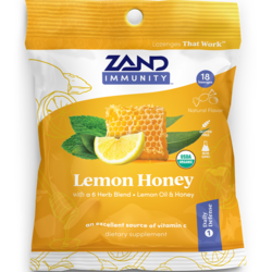 ZandOrganic HerbaLozenge Lemon Honey