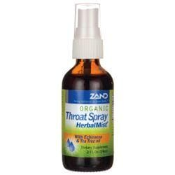 ZandOrganic Throat Herbal Mist