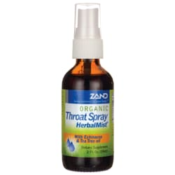 Zand Organic Throat Herbal Mist