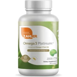 Advanced Nutrition By ZahlerOmega 3 Platinum
