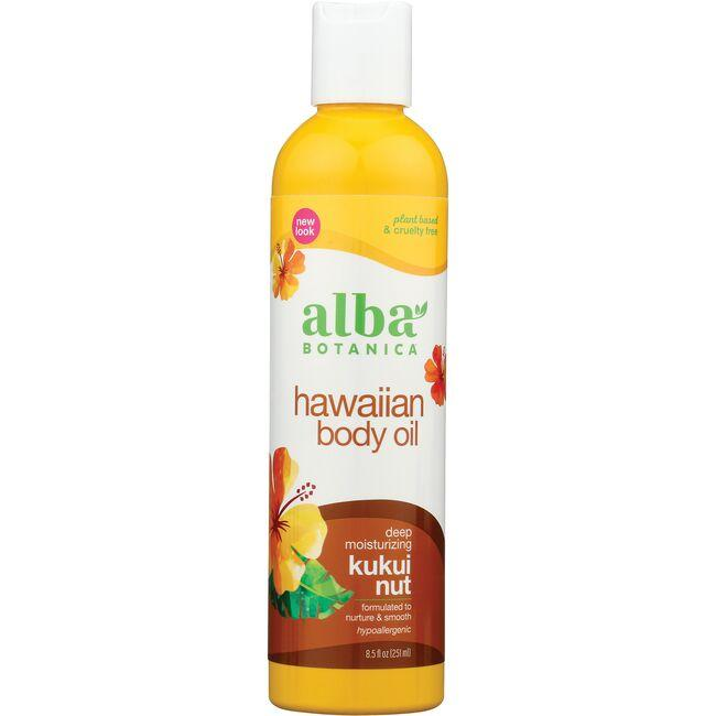 Alba BotanicaHawaiian Kukui Nut Body Oil