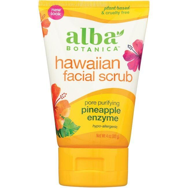 Alba Botanica Hawaiian Facial Scrub - Pineapple Enzyme